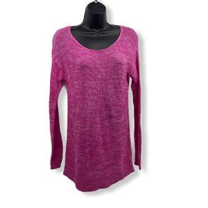 Knit Top Long sleeve Pink Sz M
